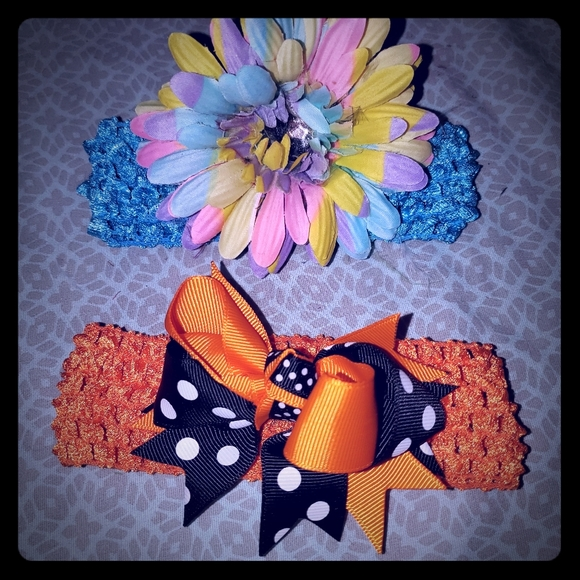 Other - headbands & clips hair girls accessories bows new